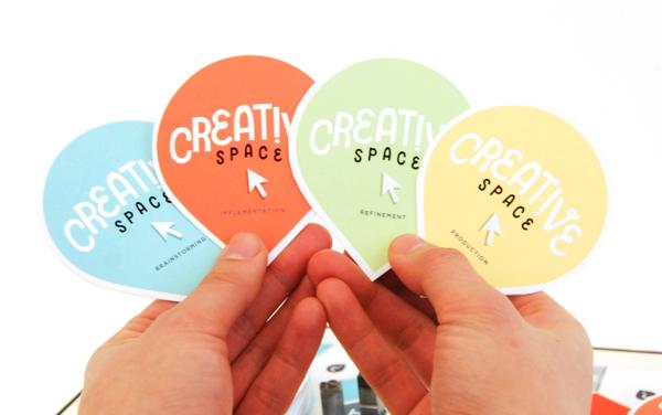 Creative space board game