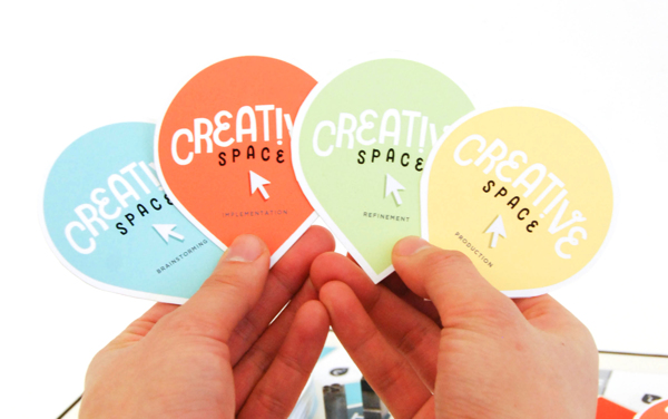 Creative space board game