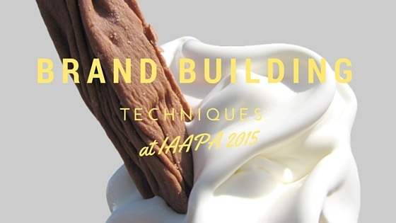 Brand Building techniques at IAAPA