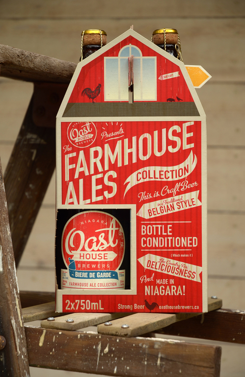 Oast house brewers packaging