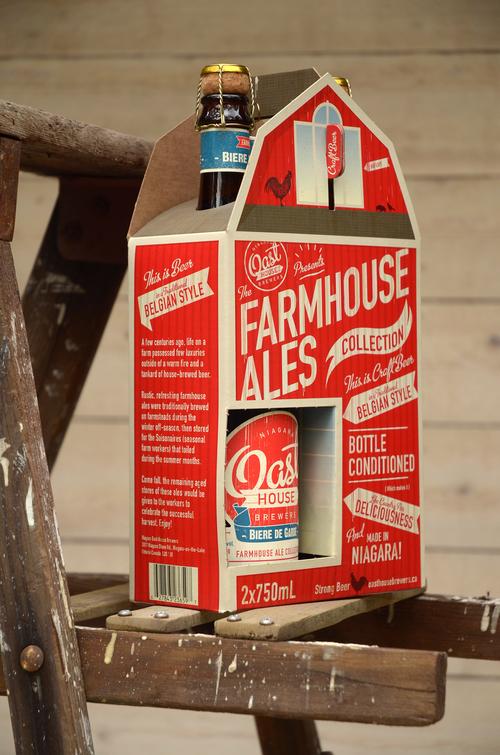 oast house beer packaging